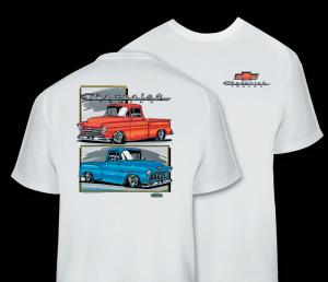 55-57 Trucks T-shirts