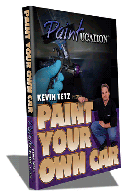 Kevin Tetz Paintucation DVD - Paint Your Own Car II