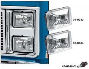 Custom Dual 165mm Headlights