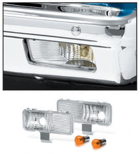 Custom Parklight Set 1981-82 with Single or Dual Headlight
