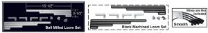 Billet Aluminum Wire Loom Set