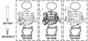 Performance Stage 2 Quadrajet Carburetors