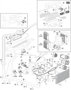 Rear Air Conditioning System W/Rear Air
