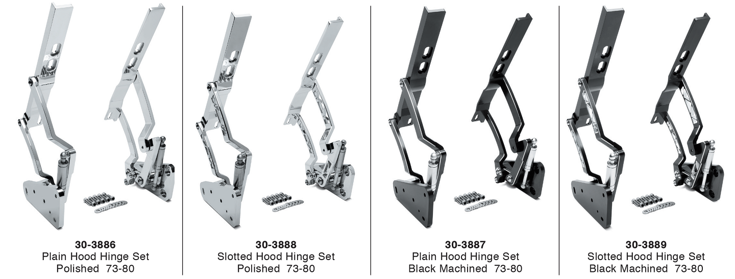 Billet Hood Hinge Set