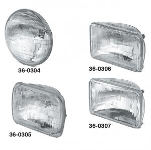 High-Performance Halogen Headlights