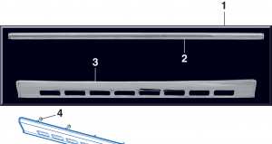 Grille Molding