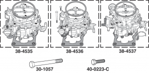 JET Stage 2 Quadrajet Carburetors