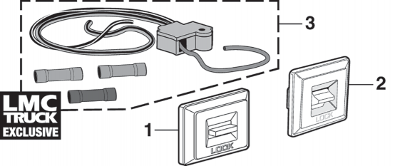 Power Door Lock Switches