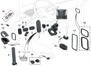 Interior Rubber Components