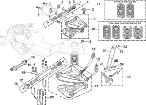 Front Suspension - 2WD