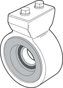 Billet Driveshaft Support Bearing
