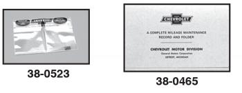 yasebanafsh.ir 61 1961 Chevy Chevrolet truck Owners manual glove ...
