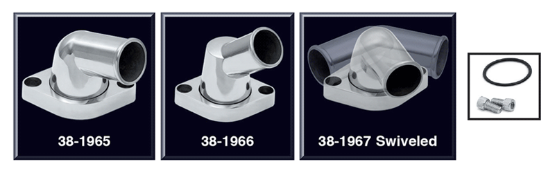 Polished Aluminum Swivel Neck Water Outlets