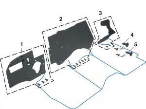 Firewall Insulation Pad