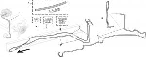 Pre-Bent Fuel Lines and Clip Sets