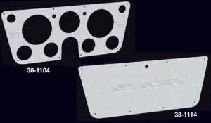Brushed Billet Aluminum Dash Panels