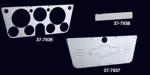 Polished Aluminum Dash Covers