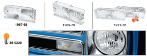Chevy Custom Parklight Sets
