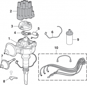 Ignition Components - Inline 6 Cylinder