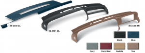 Molded Plastic Dash Covers