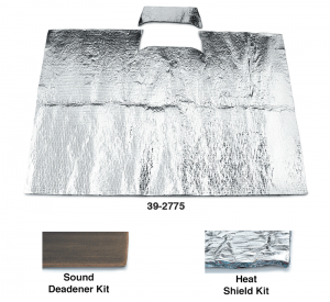 EVA Sound Deadener and Heat Shield Kit