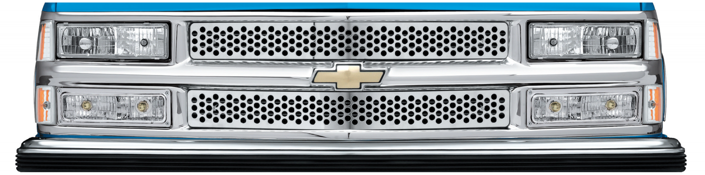 Stainless Steel Punch Grille for Chevrolet