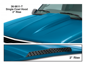 Cowl Induction Hood - Single 2