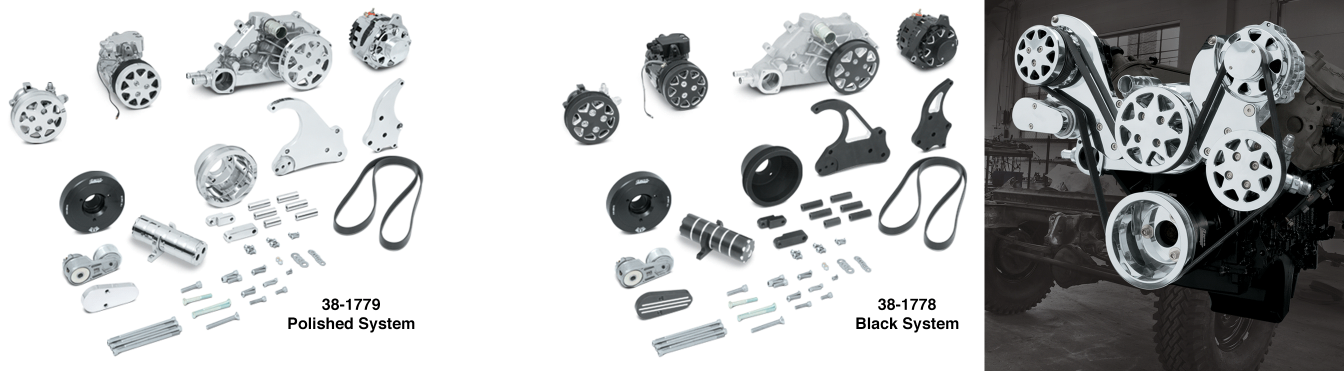 Serpentine Drive Systems for LS-Series Engines