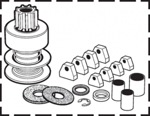 Starter Repair Kit Saves You Time