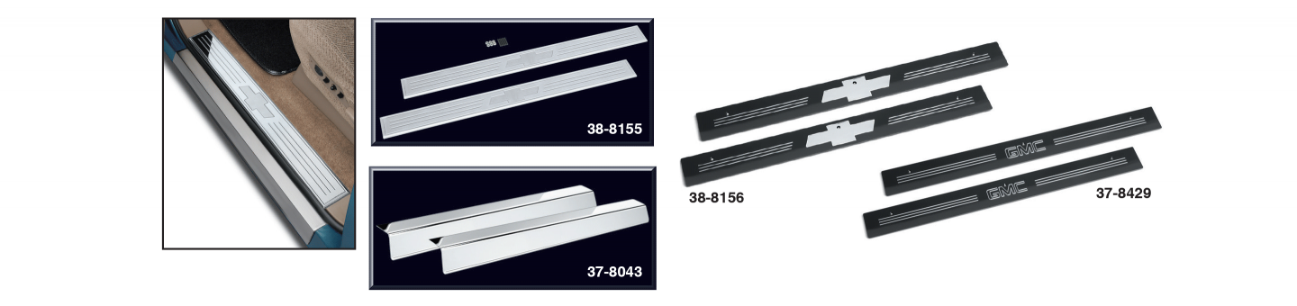 Door Sill Plate Sets and Threshold Plate Set
