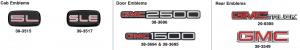 GMC Emblems