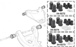 Polyurethane Control Arm Bushing Sets