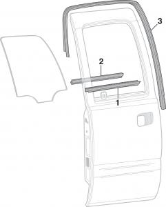 Rear Door Glass and Seals