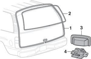 SUV Liftgate Components