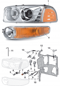 Headlight and Parklight