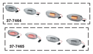 LED Rear Fender Marker Light Sets