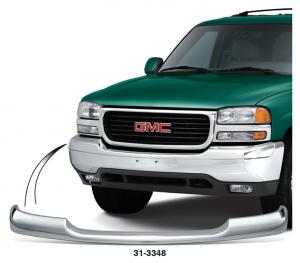 Chrome Bumper Trim Cap