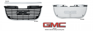 Grille - Models without Hybrid Drivetrain