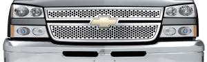 Stainless Steel Punch Grilles for Chevrolet