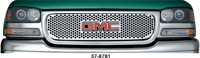Stainless Steel Punch Grille for GMC