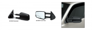 GM Style Reproduction Camper Door Mirror