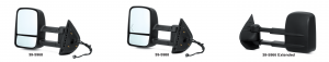GM Style Reproduction Tow Mirror