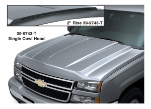 Cowl Induction Steel Hood