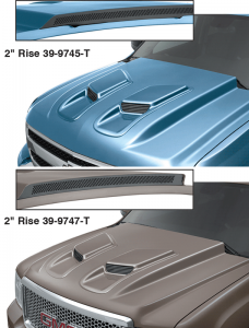 Cowl Induction Hood - Ram Air Look