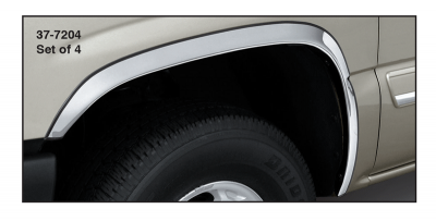 Polished Stainless Steel Fender Trim Molding
