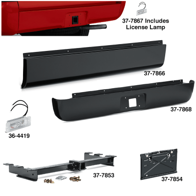 Fleetside Rear Roll Pans Give Your Truck a Smooth Look