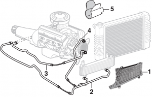 Transmission Oil Cooler and Components