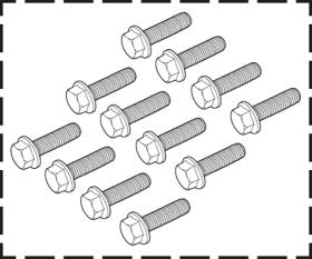Replacement Exhaust Manifold Bolt Set