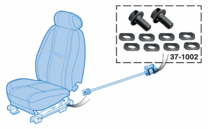 Power Seat Track Repair Kit