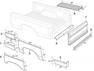 Steel Bed Panels